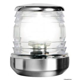 Fanale 360° led acciaio inox