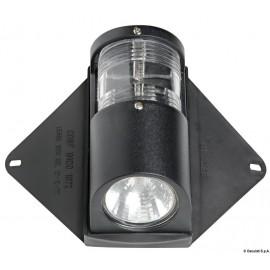 Faro UTILITY coperta + luce via 12 V