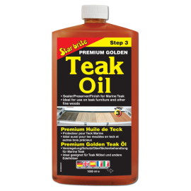 TEAK OIL STEP 3 GOLDEN