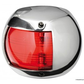 Fanale Compact 12 inox rosso