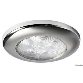 Plafoniera LED bianca senza incasso