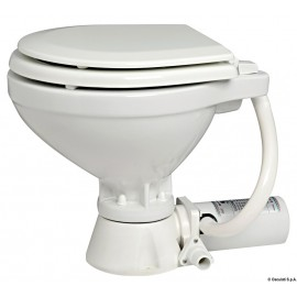 WC elettrico 12 V tavoletta legno